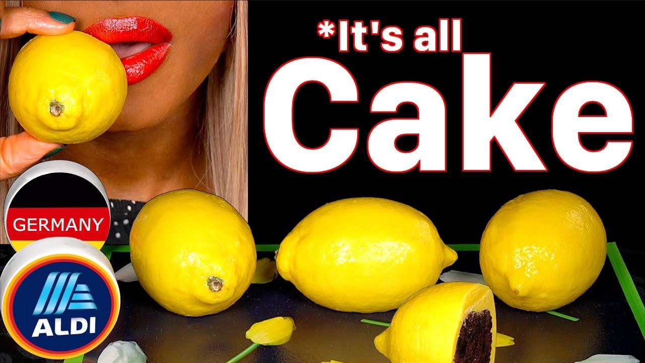 It's All Cake Lemon #shorts @ASMR MAG UK