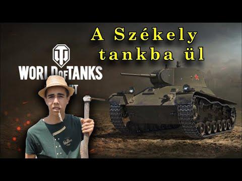 A Székely tankba ül. WORLD of TANKS gameplay #1 thumbnail