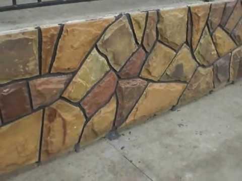 цоколь обкладений плиткою з природного каменю