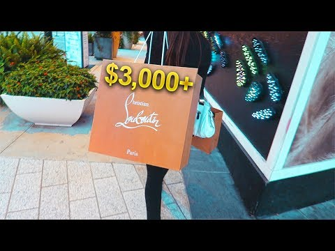 SPENDING OVER $3,000 AT Christian Louboutin! **BLOODY SHOES** | X7 Albert