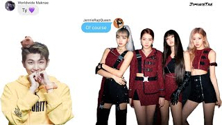 BTS Texts - The One Who Added BLACKPINK To The Group Chat Pt. 2