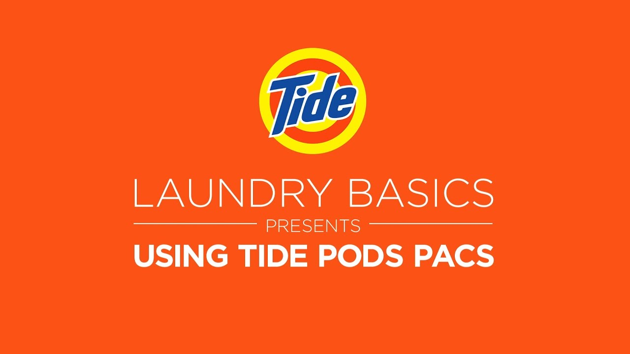 Tide Pods Laundry Tips How To Use