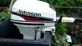 Johnson 9.9hp outboard engine