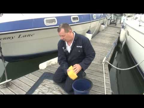 Motor Boats Monthly's practical boating with Garmin: cleaning your canopy