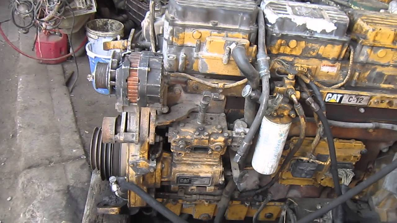 motor caterpillar c12 youtube rh youtube com caterpillar c12 engine repair manual caterpillar c12 service manual pdf