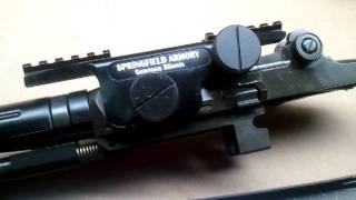 Springfield Armory 4th Generation Aluminum Scope Mount (M1A/M14 Rifle)