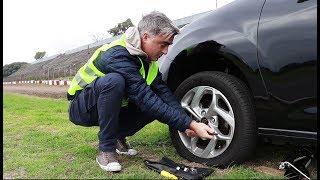 Cómo cambiar una rueda - Informe - Matías Antico - TN Autos