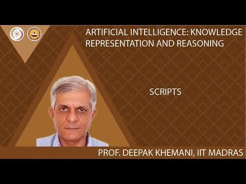 M8 Lec 2 - Knowledge Representation: Scripts