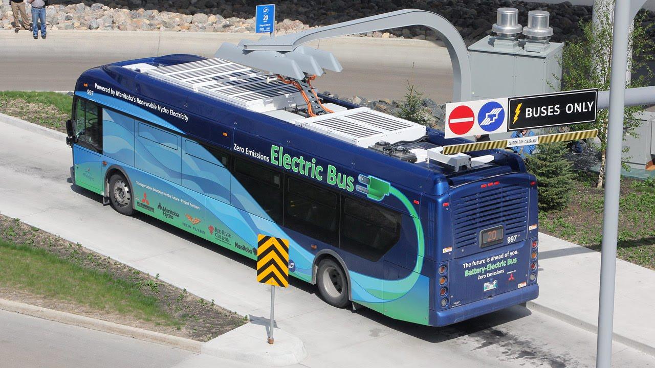 Winnipeg Transit Electric Bus New Flyer Xe40 997 Hvac
