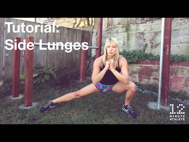 Side Lunge Tutorial created by 12 Minute Athlete