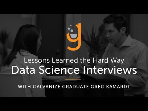 Lessons Learned the Hard Way: Hacking the Data Science Interview