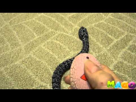 Змея на радиоуправлении - YouTube