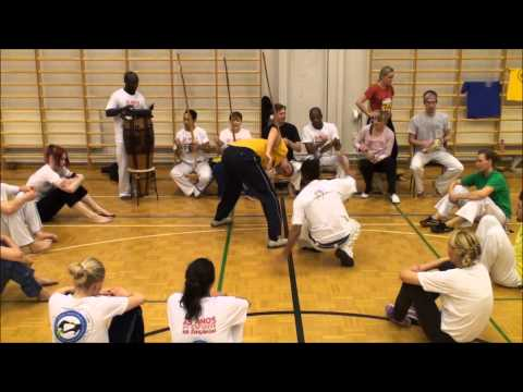 Roda at the event 25 years of Capoeira in Finland part 4