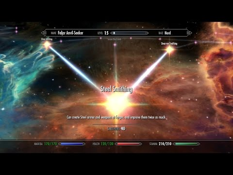 Skyrim Walkthrough [2015] - Road to Smithing level 100 - Ancient Knowledge Ability - Part 8