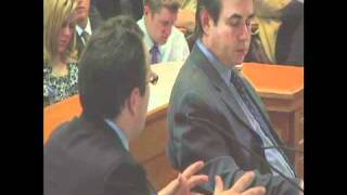 Mario Nicolais testifying in favor of the Colorado Civil Union Act