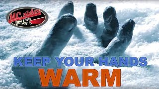 How to keep your hands warm on your motorcycle