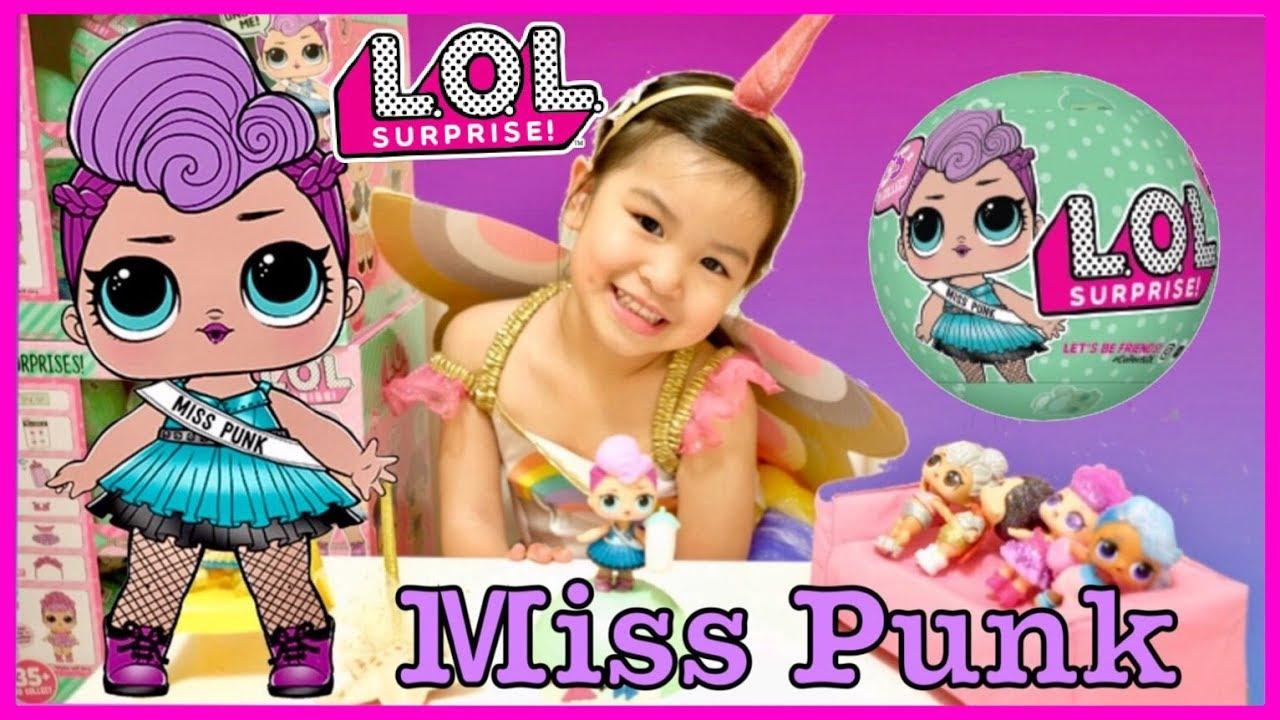 LOL Surprise LiL Sisters L.O.L MISS PUNK GLAM club SERIES 2 BJUS