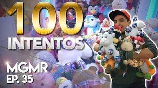 100 INTENTOS EN MAQUINAS DE PELUCHES - MiniGames en el Mundo Real Ep. 35