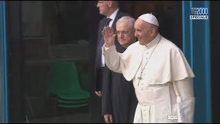 Papa Francesco a Corviale, video integrale della visita a San Paolo della Croce