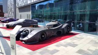 Batmobile from the Batman Movie (1989) in Dubai