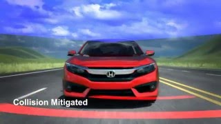 HONDA SENSING ADVANCED SAFETY AND DRIVER-ASSISTIVE TECHNOLOGIES
