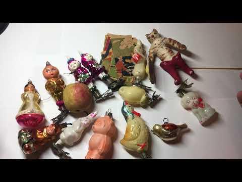 Почем можно продать елочные игрушки СССР?