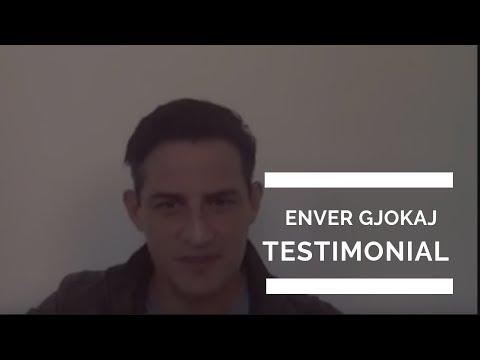 Enver Gjokaj Lifehack Bootcamp Testimonial