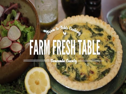 Farm Fresh Table; Farm to Table Cooking in Buncombe County