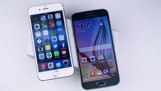 samsung galaxy s6 vs apple iphone 6 deutsch