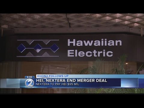NextEra, Hawaiian Electric end merger agreement