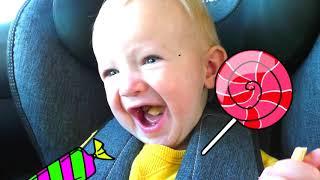 Мы в машине - Детская песня | Песни для детей от Кати и Димы
