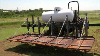 Propane Flame Weed Control