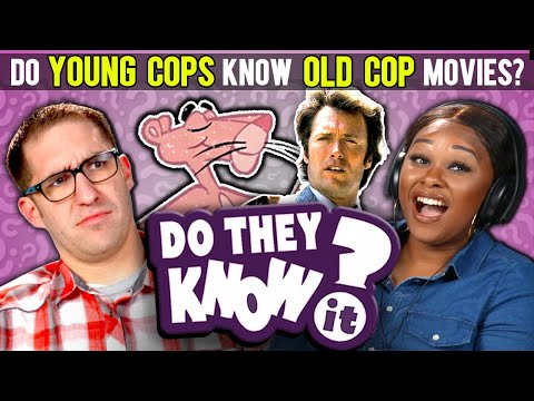 Do Young Cops Know Old Cop Movies? (Shaft, Pink Panther)   React: Do They Know It