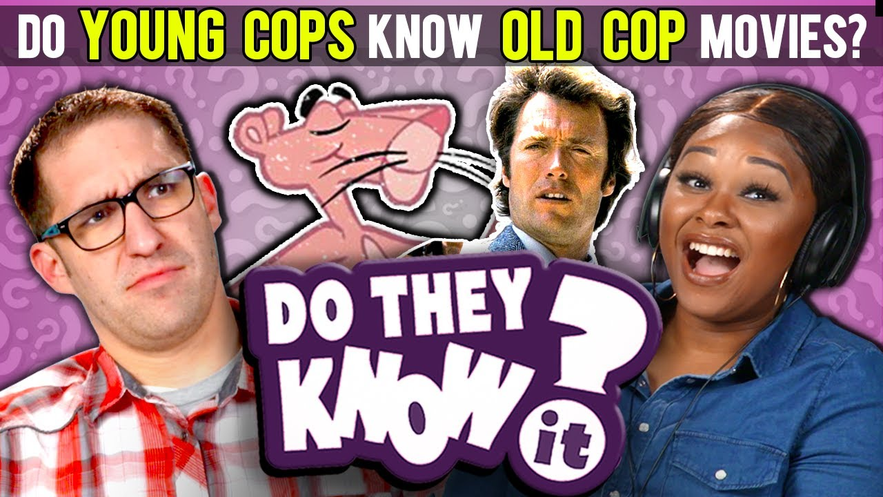 Do Young Cops Know Old Cop Movies? (Shaft, Pink Panther) | React: Do They  Know It