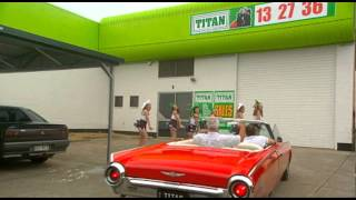 Titan Garages Sheds And Carports, New Capalaba Grand Opening, Ozpig Promotion