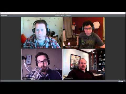Red Giant TV Live - Episode 7: Nick Campbell & Andrew Little Talk Making Money as an artist