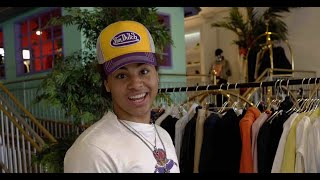 24kGoldn on Jackets and Outerwear in Los Angeles | Throwback Thursday Style Vault