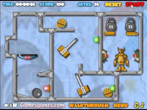 Crash the Robot: Explosive Edition Walkthrough - Levels 16-30