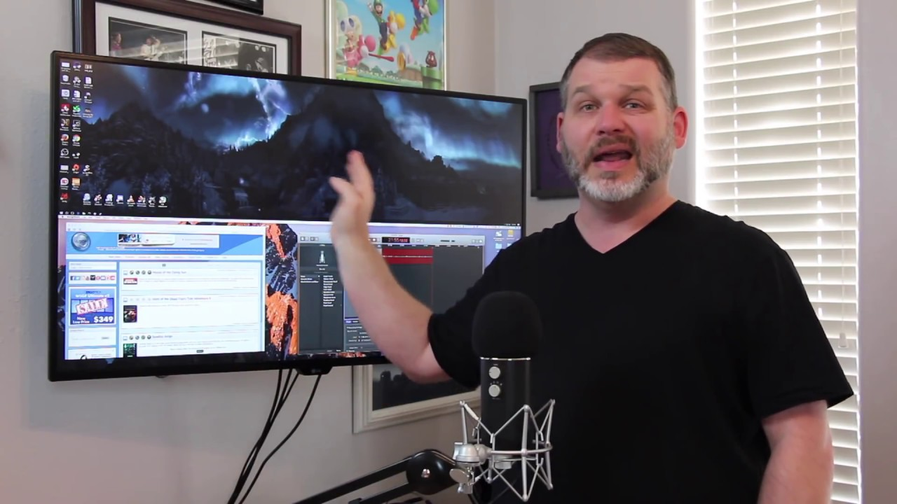 Review Lg 43ud79 4k Uhd Monitor Youtube