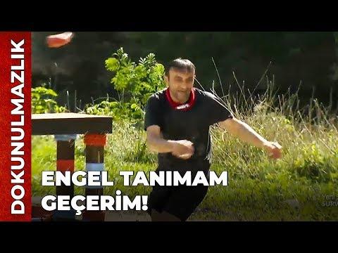 Ersin Korkut Dokunulmazlık Yarışına Damga Vurdu! | Survivor Ünlüler Gönüllüler