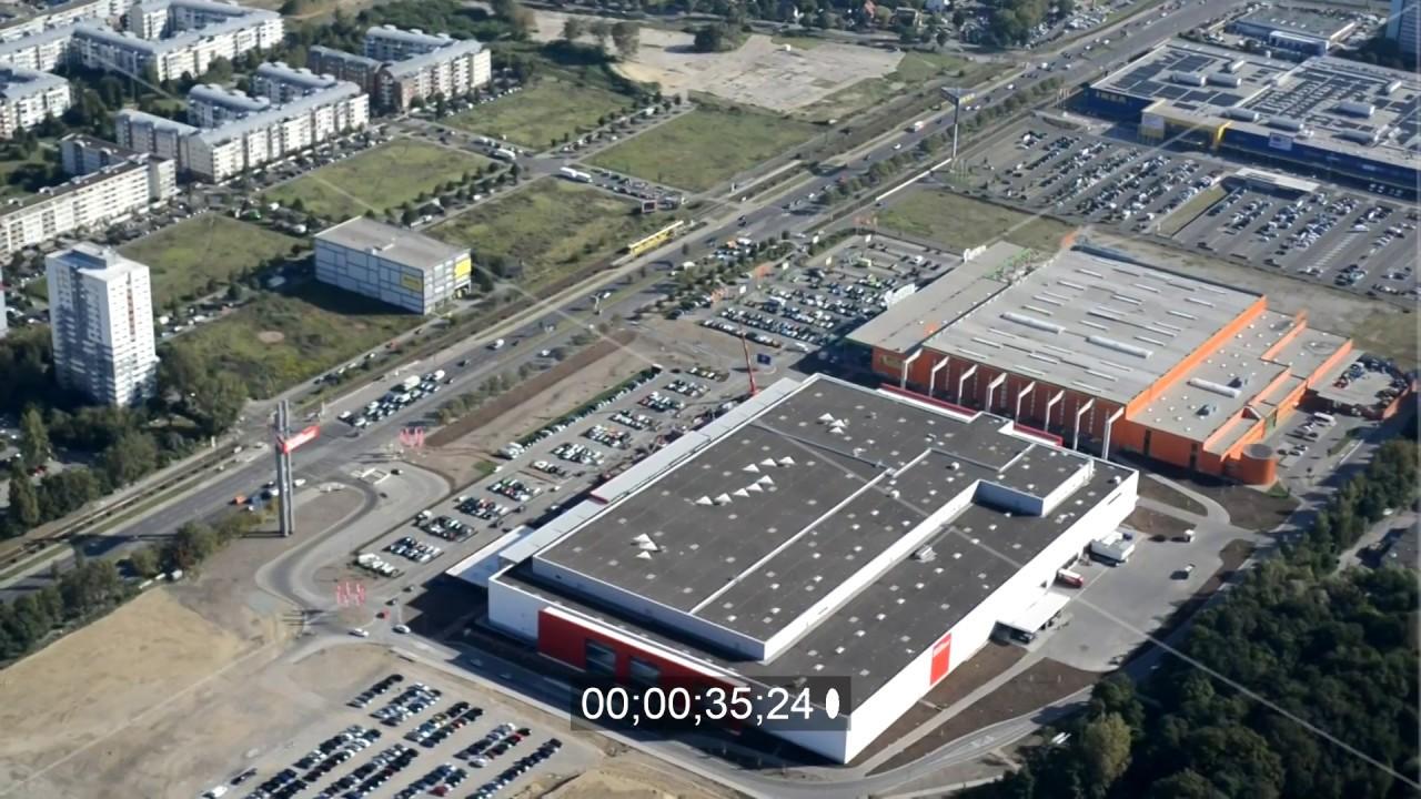 Einkaufszentrum An Der Landsberger Allee In Berlin Lichtenberg Youtube