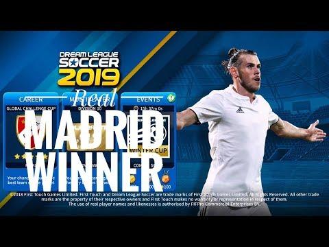 Create Real Madrid Team ★ Kit Logo & Players ★ Dream League Soccer 2019 || FOCUS LIVE.