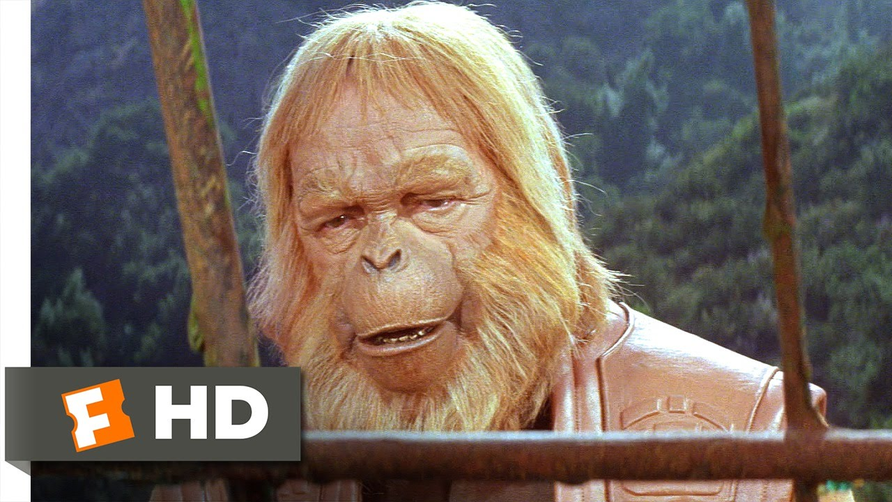 Planet Of The Apes 3 5 Movie Clip Writing In The Sand 1968 Hd Youtube
