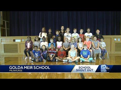 10/9 School shout-out: Golda Meir School