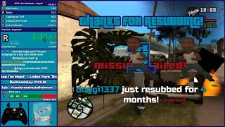 GTA San Andreas Any% Speedrun Attempt - Hugo_One Twitch Stream - 9/29/2017