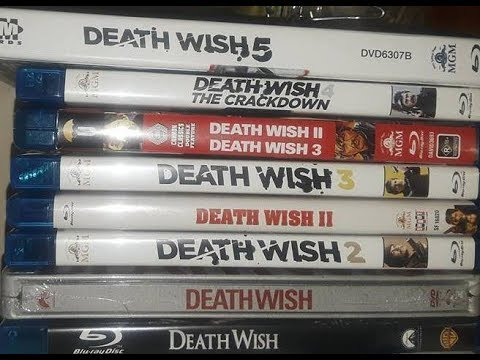 Death Wish ('74-'94) blu-ray disambiguation