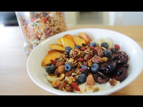 Homemade Muesli - A great thing to make at home