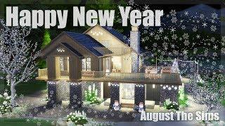 The Sims 4 - Speed Build   Празднуем Новый Год (Рождество)