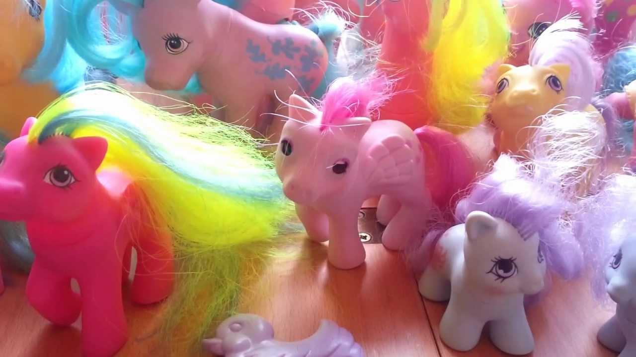 Vintage My Little Pony Toys My Huge Lot On Ebay Youtube