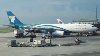 Oman Air Flight Experience: WY824 Singapore to Kuala Lumpur